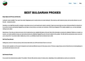 Bulgariaproxy.net thumbnail