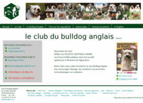 Bulldog.asso.fr thumbnail