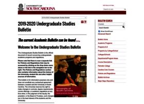 Bulletin.sc.edu thumbnail