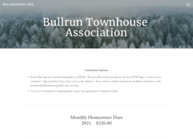 Bullrunhoa.org thumbnail