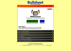 Bullsheet.de thumbnail