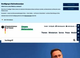 Bundesfinanzministerium.de thumbnail