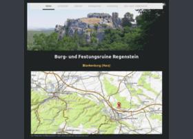 Burg-regenstein.de thumbnail