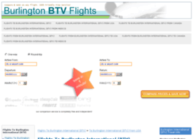Burlingtonflights.xyz thumbnail
