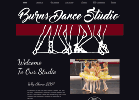 Burnsdancestudio.com thumbnail