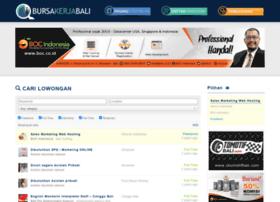 Bursakerjabali.com at WI. Bursa Lowongan Kerja Bali
