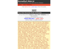 Bursamp3.web.id thumbnail