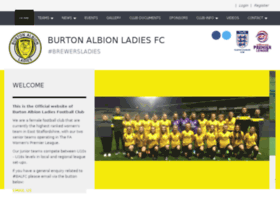 Burtonalbionlfc.co.uk thumbnail
