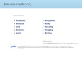 Business-letter.org thumbnail