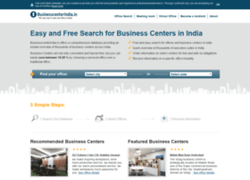 Businesscenterindia.in thumbnail