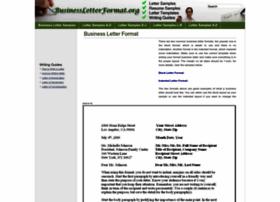 Businessletterformat.org thumbnail