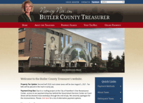 Butlercountytreasurer.org thumbnail