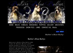 Butlersbluebullys.com thumbnail