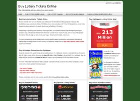 Buy-lottery-tickets-online.net thumbnail