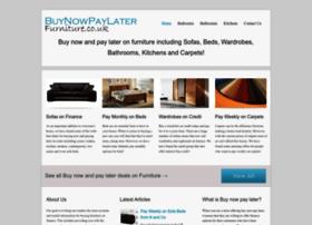 Buynowpaylaterfurniture.co.uk thumbnail