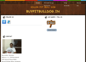 Buypitbulldog.in thumbnail