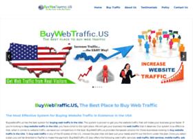 Buywebtraffic.us thumbnail