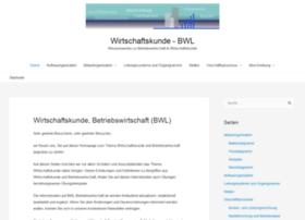Bwl-betriebswirtschaft.de thumbnail