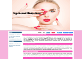 Bycosmeticos.com thumbnail