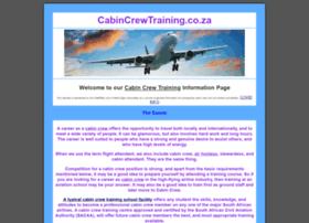 Cabincrewtraining.co.za thumbnail