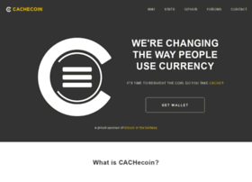 Cachecoin.org thumbnail