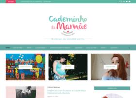 Caderninhodamamae.com.br thumbnail