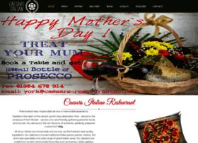 Caesars-restaurants.co.uk thumbnail