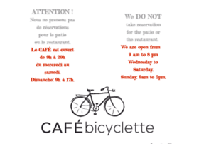 Cafebicyclette.ca thumbnail