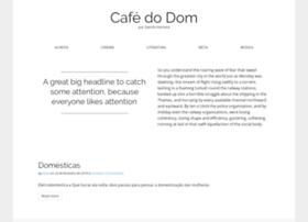 Cafedodom.com.br thumbnail