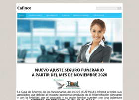 Cafince.webnode.es thumbnail