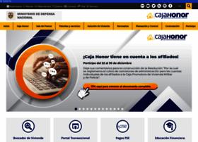 Cajahonor.gov.co thumbnail