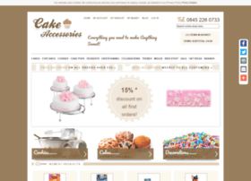 Cakeaccessories.co.uk thumbnail
