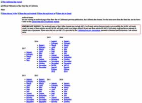 Calbarjournal.com thumbnail
