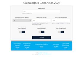 Calculadoraganancias.com.ar thumbnail