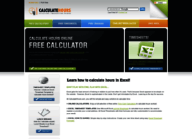 calculatehourscom thumbnail - Free Online Time Card