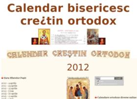 Calendar-bisericesc.ro thumbnail