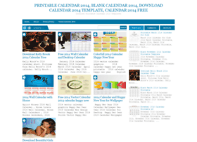 Calendar2014printable.blogspot.com thumbnail