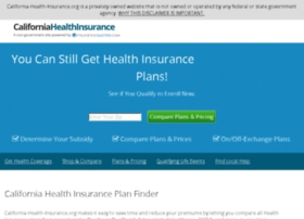 California-health-insurance.org thumbnail