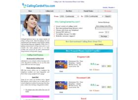 Callingcards4you.com thumbnail