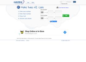 Callzero.co.nz thumbnail