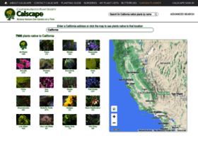 Calscape.org thumbnail