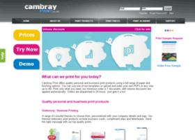 Cambrayprint.co.uk thumbnail