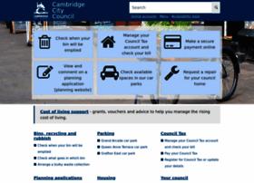Cambridge.gov.uk thumbnail