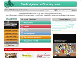 Cambridgeinternetdirectory.co.uk thumbnail