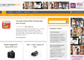Camcorder-blog.de thumbnail