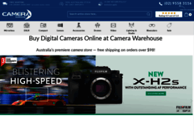 Camera-warehouse.com.au thumbnail