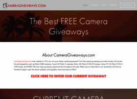 Cameragiveaways.com thumbnail