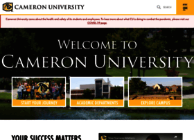 Cameron.edu thumbnail