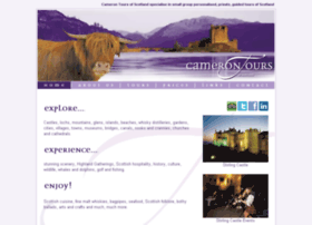 Camerontoursofscotland.co.uk thumbnail