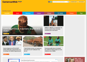 Cameroonweb Com At Wi Cameroon Homepage Resource For News Sports Facts Opinions